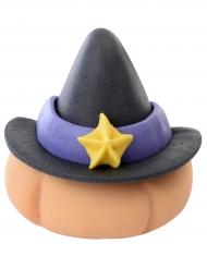 Decorazione di zucchero zucca con cappello