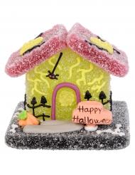 Decorazione di zucchero e gelatina casetta Halloween