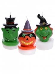 3 candele mostri Halloween