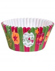 6 pirottini per cupcakes colorati Natale