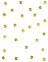 50 campanelline dorate