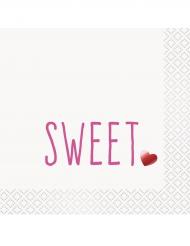 16 tovaglioli di carta Sweet