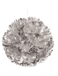 Sfera decorativa color argento 40 cm