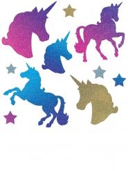 10 sagome in cartone unicorno