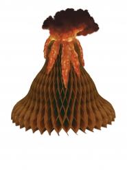 Centrotavola a forma di vulcano