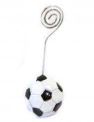 Segnaposto in resina con pallone da calcio