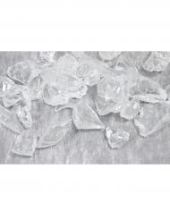 Cristalli decorativi trasparenti