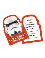 6 biglietti di invito Stormtrooper™