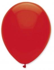 6 palloncini in lattice rosso rubino