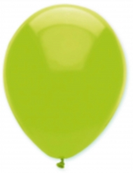 6 palloncini in lattice verde acido