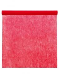 Rotolo di tovaglia in tessuto non tessuto rosso