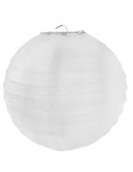 2 lanterne color bianco 20 cm
