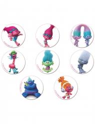 16 mini dischi di zucchero Trolls™
