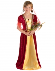 Costume contessa medievale per bambina