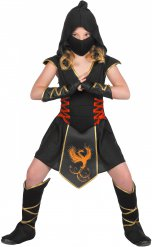Costume ninja per bambina