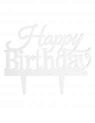 Decorazione per torta da personalizzare Happy Birthday