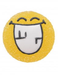 6 statuine di zucchero e gelatina Smiley World™