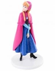 Statuina per dolci in plastica Frozen™ Anna