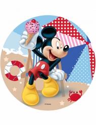 Disco di ostia Topolino™ in spiaggia 21 cm
