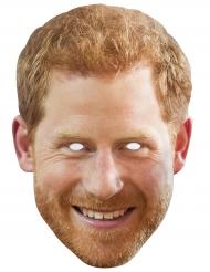 Maschera in cartone principe Harry
