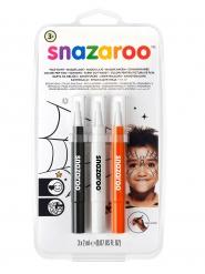 Kit 3 penne da trucco Halloween Snazaroo™