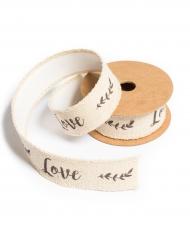 Nastro adesivo in lino Love