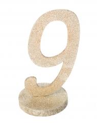 Centrotavola color champagne numero 9