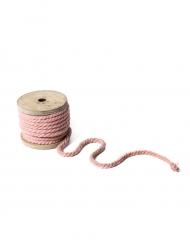 Bobina di corda color rosa antico