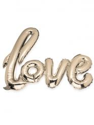 Palloncino alluminio Love color champagne