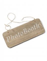 Insegna in legno Photobooth