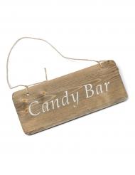 Insegna in legno Candy Bar