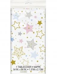 Tovaglia in plastica Little Star stelle colorate