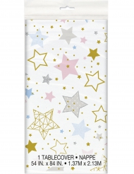 Tovaglia in plastica Little Star stelle colorate