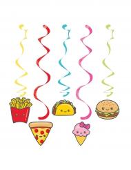 5 sospensioni a tema junk food