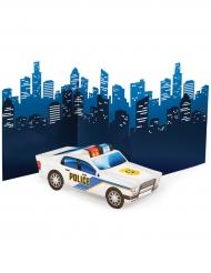 Centrotavola macchina della polizia