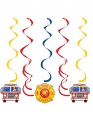 5 sospensioni camion dei pompieri