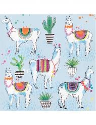 16 tovaglioli di carta fiesta lama