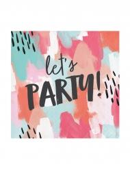 24 tovagliolini di carta Let's Party!