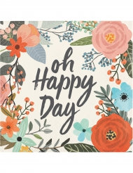 24 tovagliolini di carta Oh Happy Day