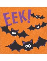 16 tovaglioli di carta Halloween divertente