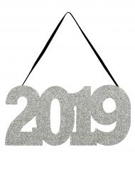 Decorazione per porta argento 2019
