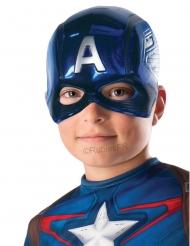 Mezza maschera Capitan America™ Bambino