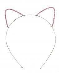Cerchietto con orecchie da gatto bambina