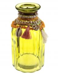 Vaso in vetro giallo Messico