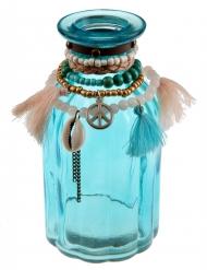 Vaso di vetro blu Messico