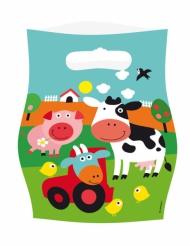 8 sacchetti regalo allegra fattoria
