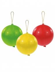 3 palloncini punching ball in lattice