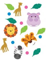Coriandoli da tavola animaletti della giungla