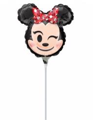 Mini palloncino alluminio Minnie™ Emoji™