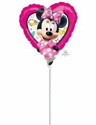 Mini palloncino alluminio cuore Minnie™